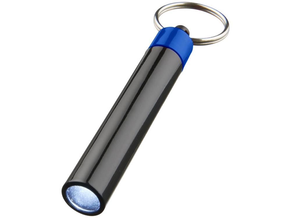 Брелок-фонарик Retro, ярко-синий