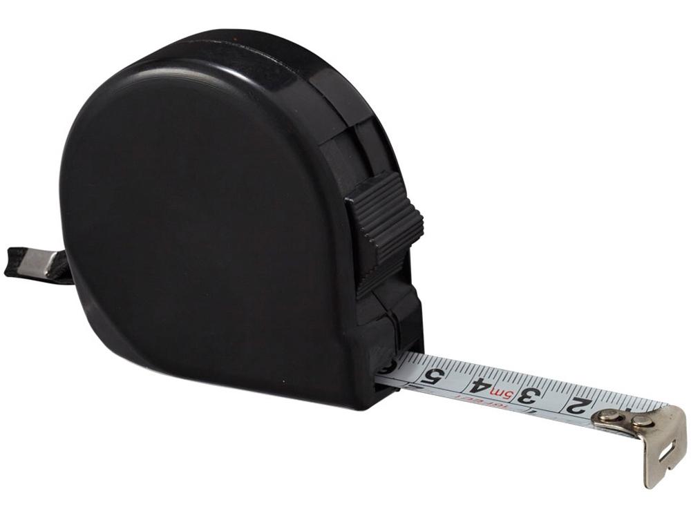 Рулетка Liam, 5м, черный