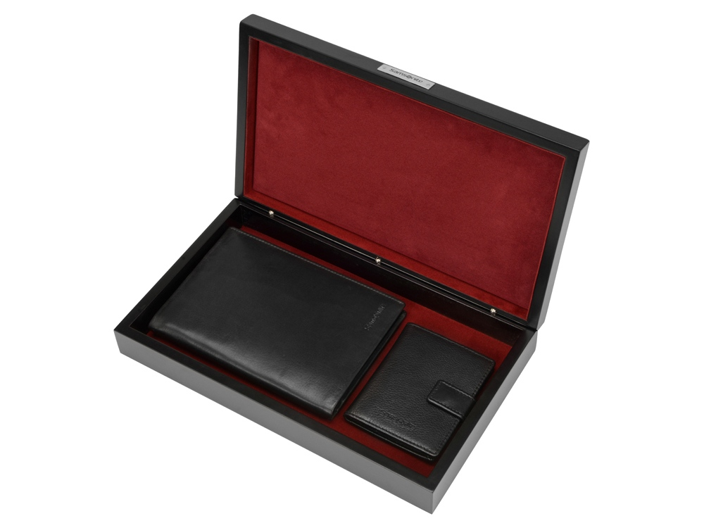 Набор Samsonite (Самсонайт): портмоне, футляр для кредитных карт