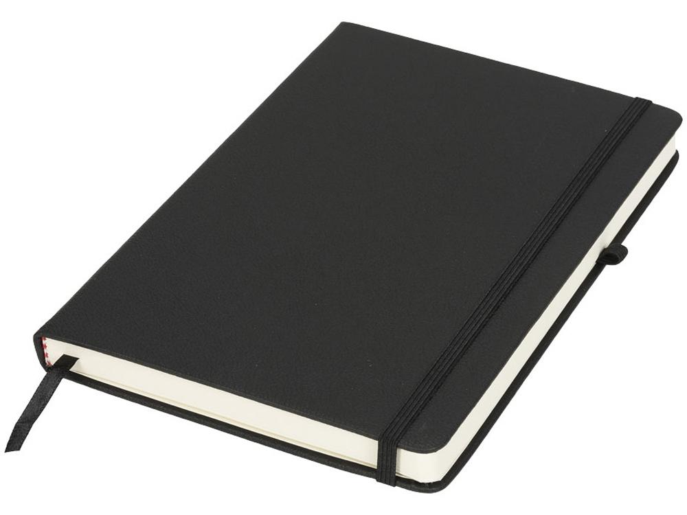 Блокнот Rivista среднего размера, черный