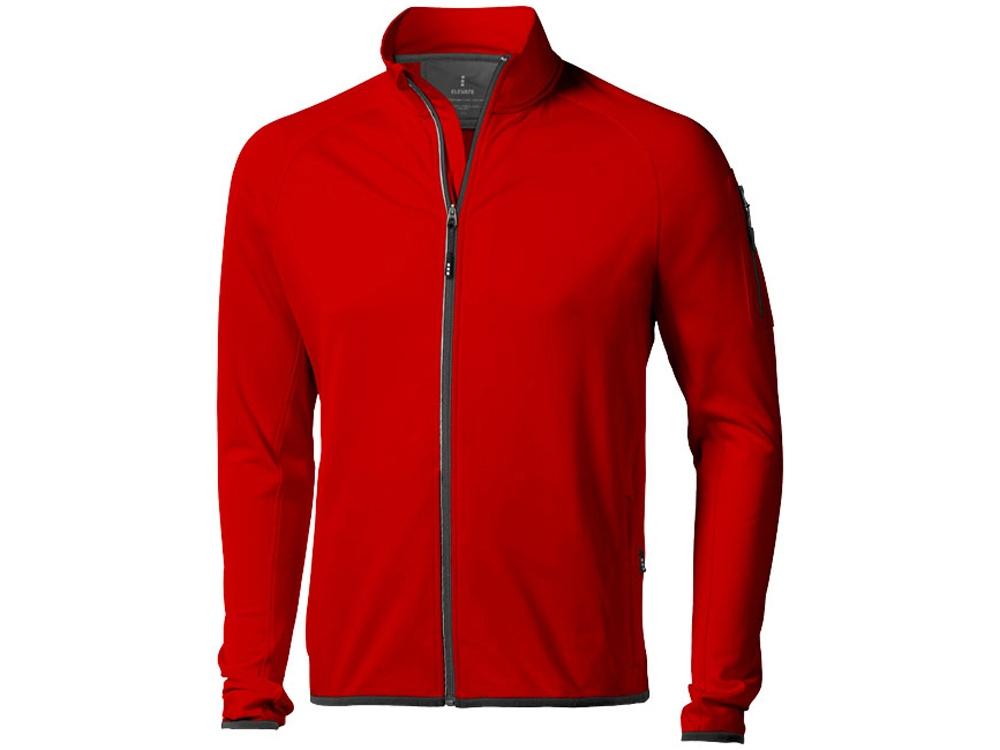 Куртка флисовая Mani мужская, красный
