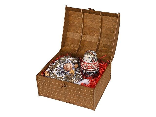 Подарочный набор «Матрешка»: штоф, платок (арт. 82786)