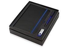 Подарочный набор «Q-edge» с флешкой, ручкой-подставкой и блокнотом А5 (арт. 700322.02), фото 2