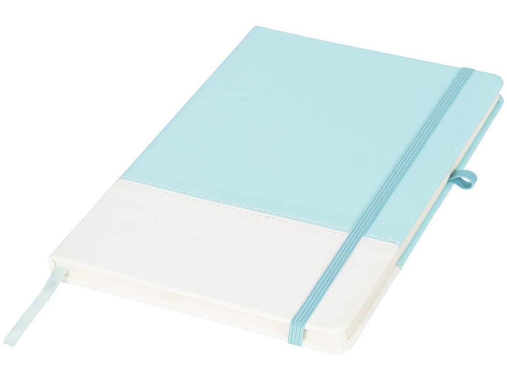 Блокнот А5 двухцветный, мятный