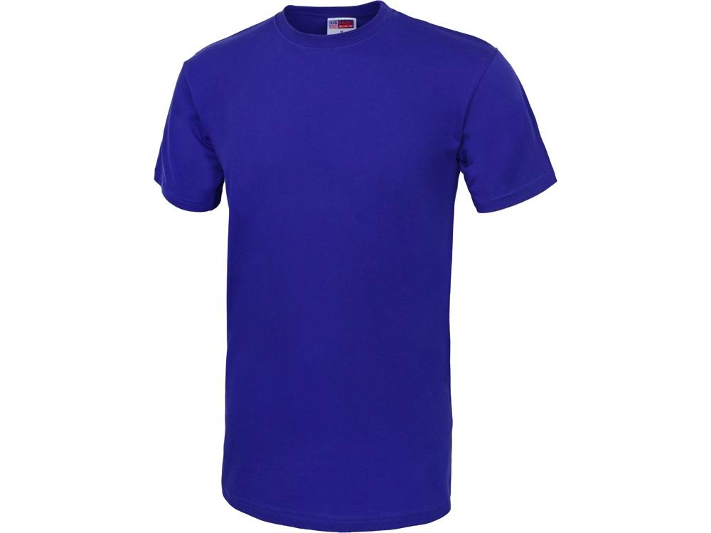 Футболка Club мужская, без боковых швов, классический синий