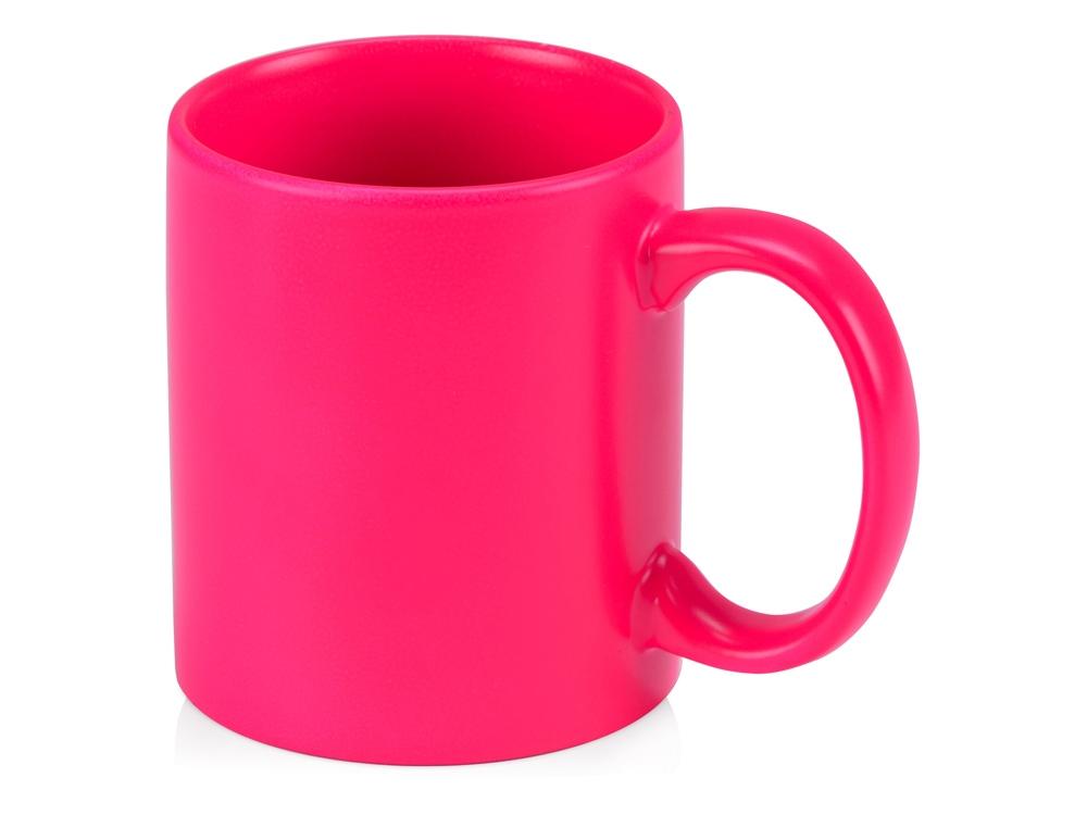 Кружка Марго 320мл, неоновый розовый
