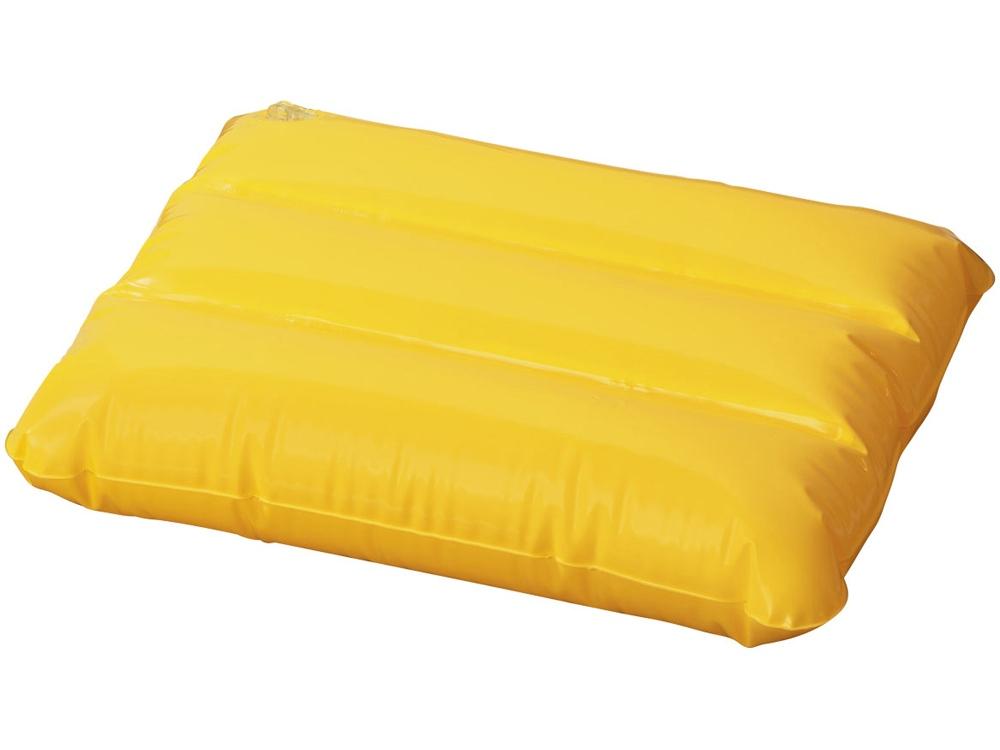 Надувная подушка Wave, желтый
