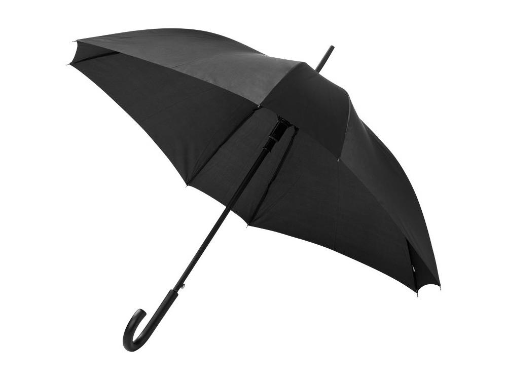 Зонт-трость Neki, полуавтомат 23,5, черный