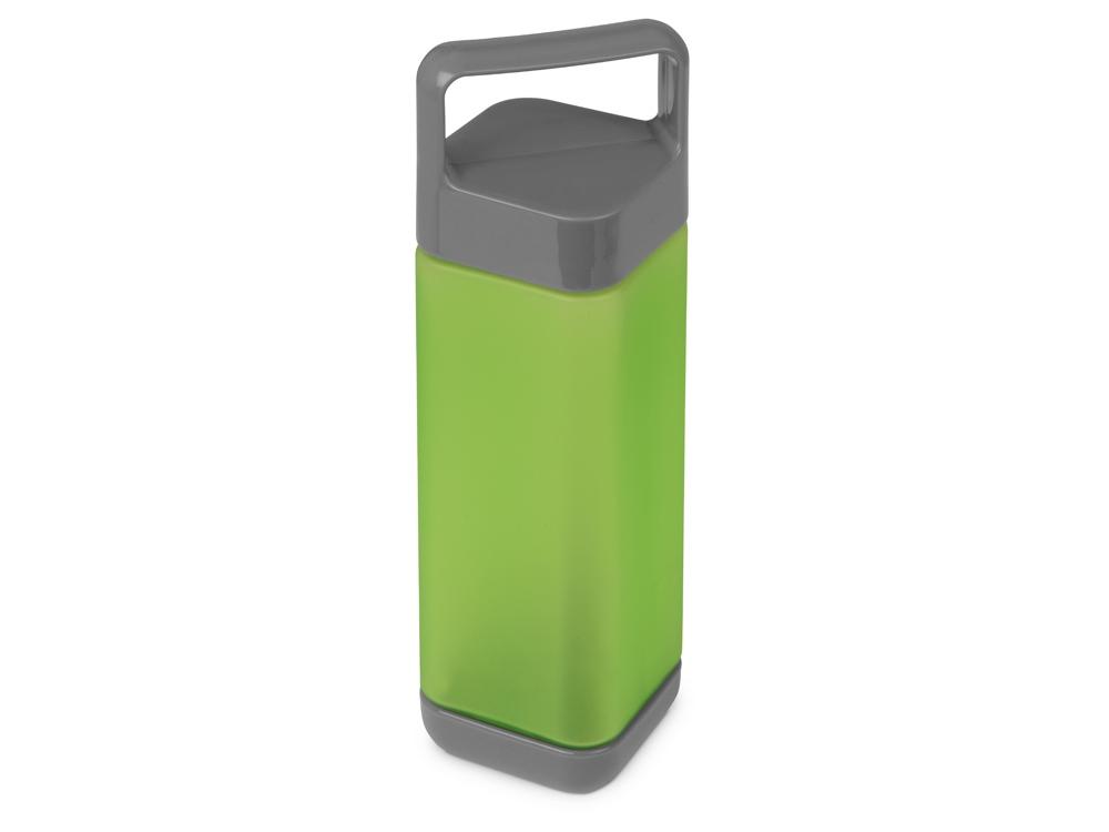 Бутылка для воды Balk 650 мл soft-touch, зеленое яблоко