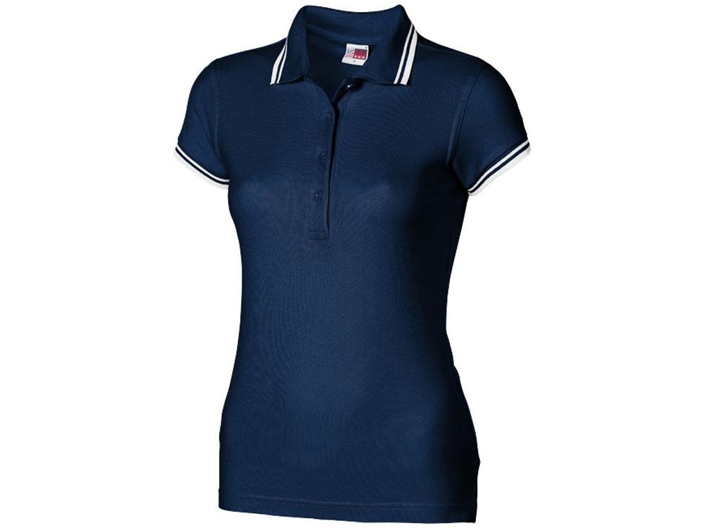 Рубашка поло Erie женская, темно-синий