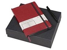 Подарочный набор «Megapolis Soft»: ежедневник А5 , ручка шариковая (арт. 700406)