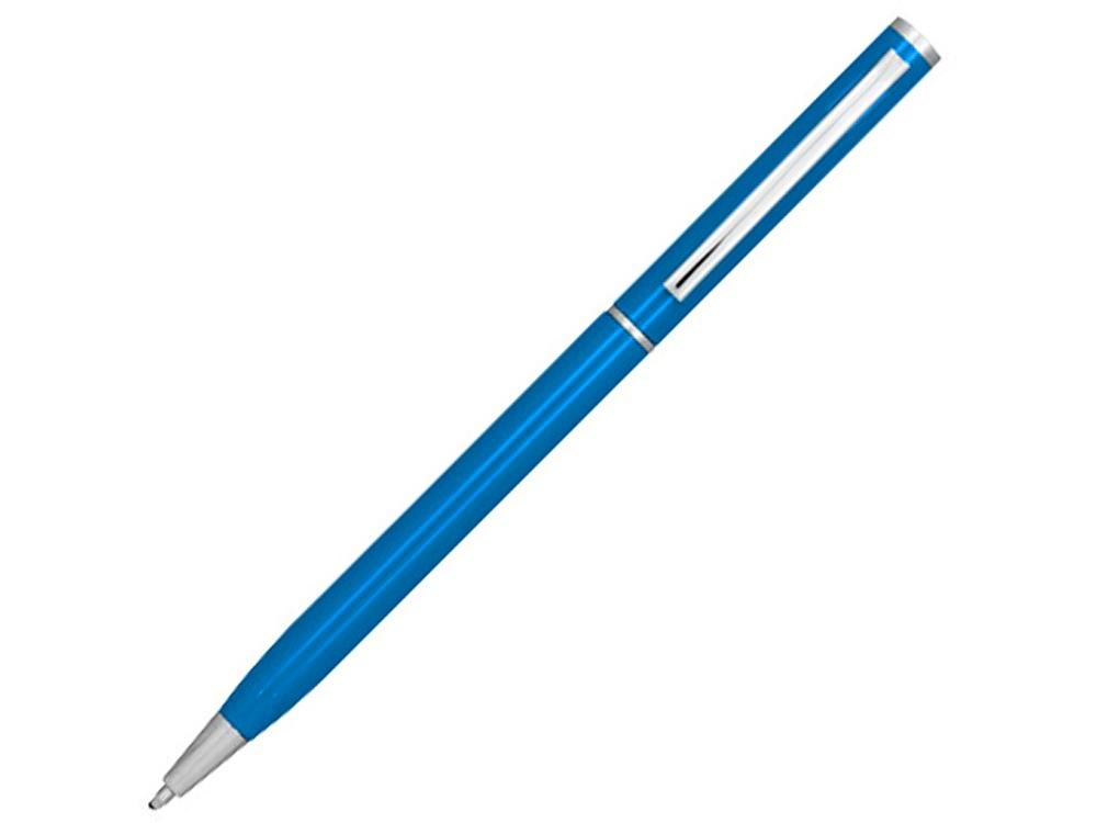 Ручка металлическая шариковая Slim, синий