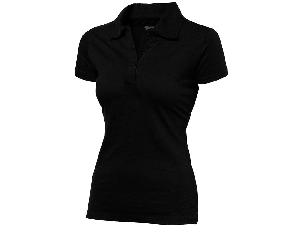 Рубашка поло Let женская, черный