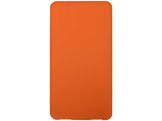 Портативное зарядное устройство «Reserve» с USB Type-C, 5000 mAh, оранжевый