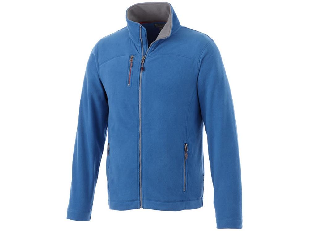 Микрофлисовая куртка Pitch, небесно-голубой