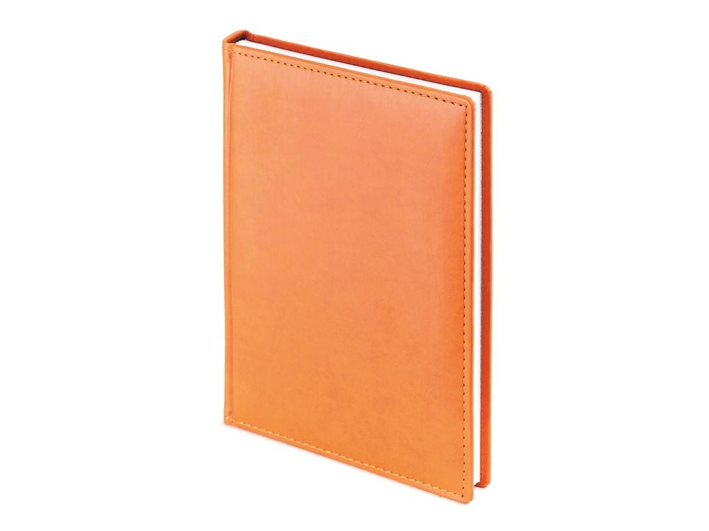 Ежедневник А5 датированный Velvet 2020, оранжевый