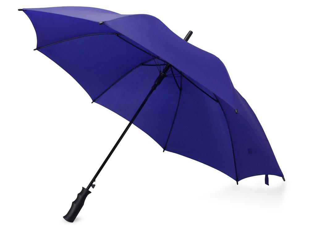 Зонт-трость Concord, полуавтомат, темно-синий
