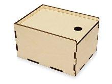 Деревянная подарочная коробка-пенал, М (арт. 625300)