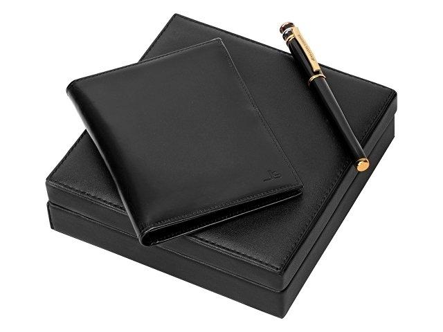 Подарочный набор: партмоне, ручка роллер (арт. 56182)