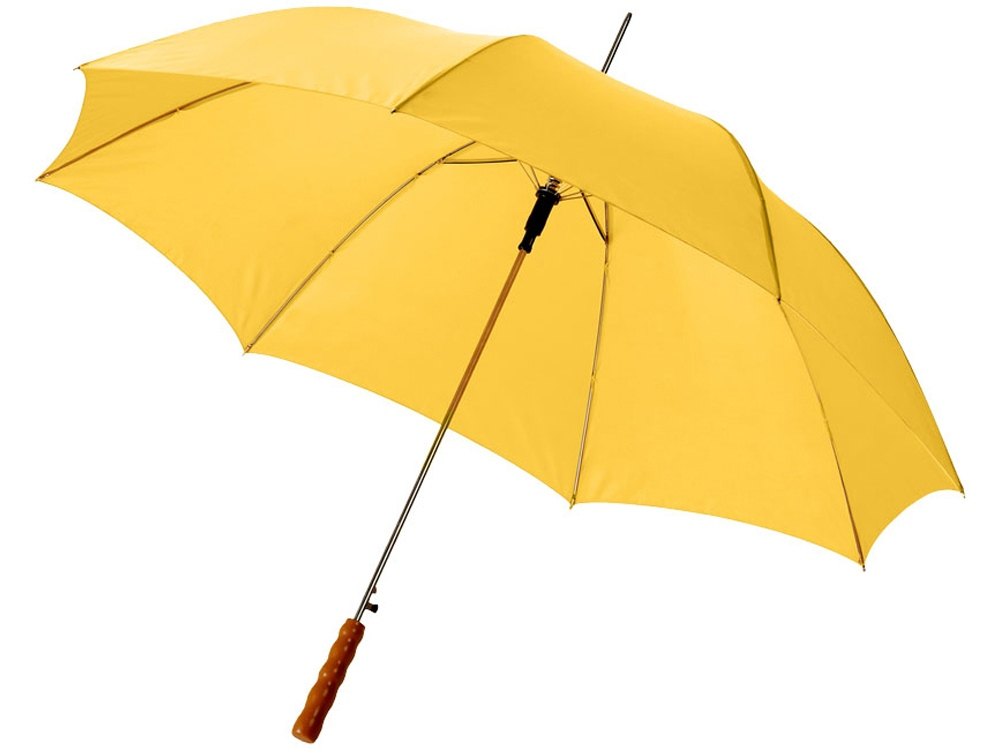 Зонт-трость Lisa полуавтомат 23, желтый