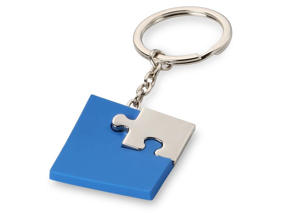 Брелок Puzzle, синий