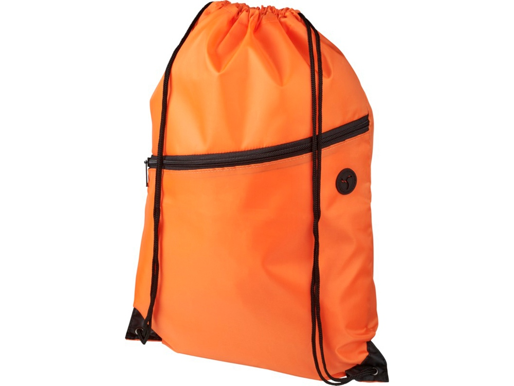 Рюкзак Oriole на молнии со шнурком, оранжевый