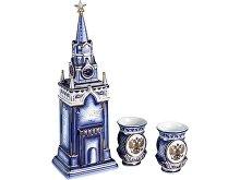 Набор «Кремль»: штоф для водки с двумя стопками (арт. 82734)