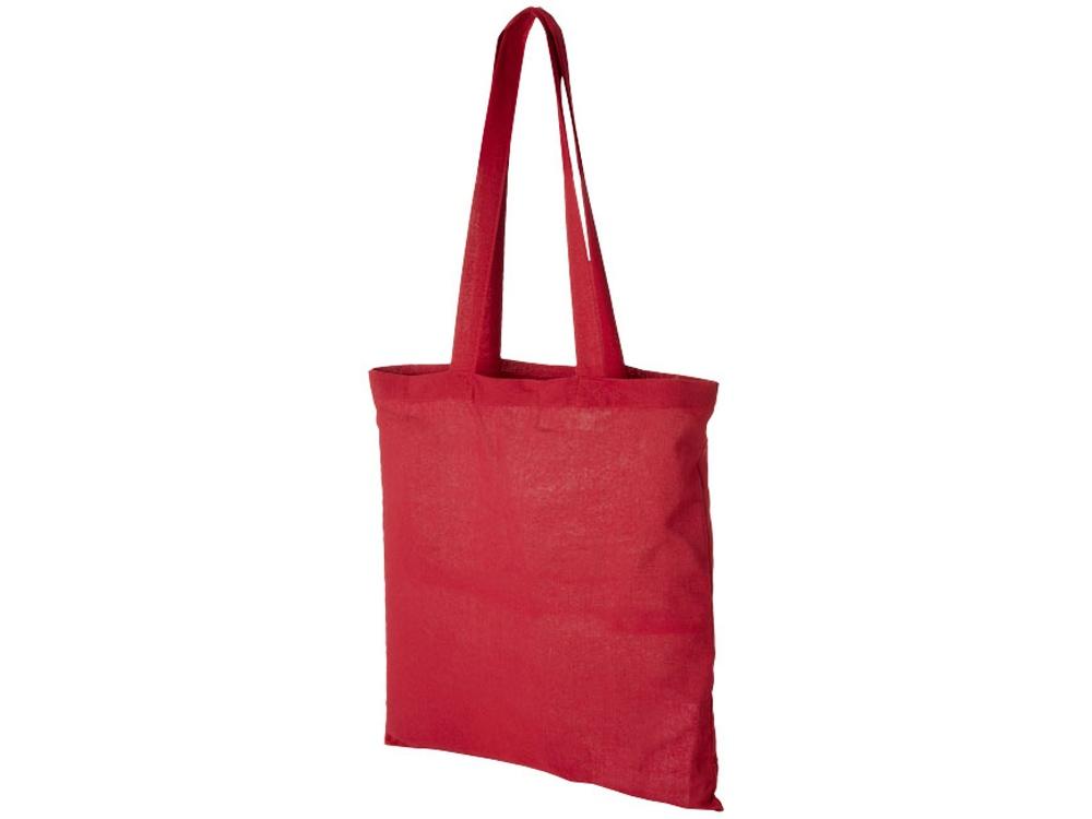 Хлопковая сумка Madras, красный