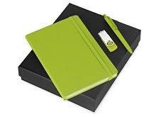 Подарочный набор Vision Pro Plus soft-touch с флешкой, ручкой и блокнотом А5 (арт. 700342.03)