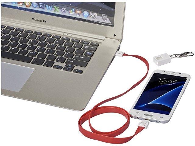 Зарядный кабель-клип 2 в 1