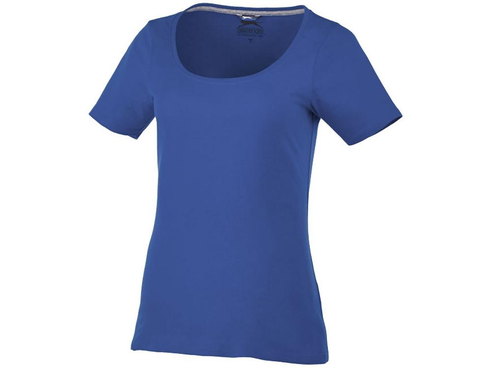 Женская футболка с короткими рукавами Bosey, темно-синий