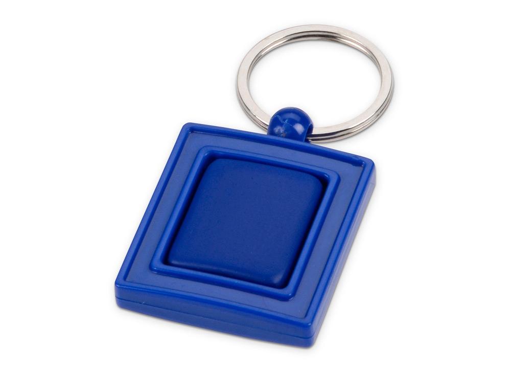 Брелок с вращающимся элементом, синий