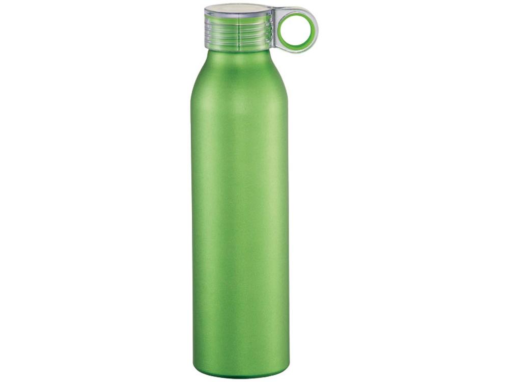 Спортивная алюминиевая бутылка Grom, лайм