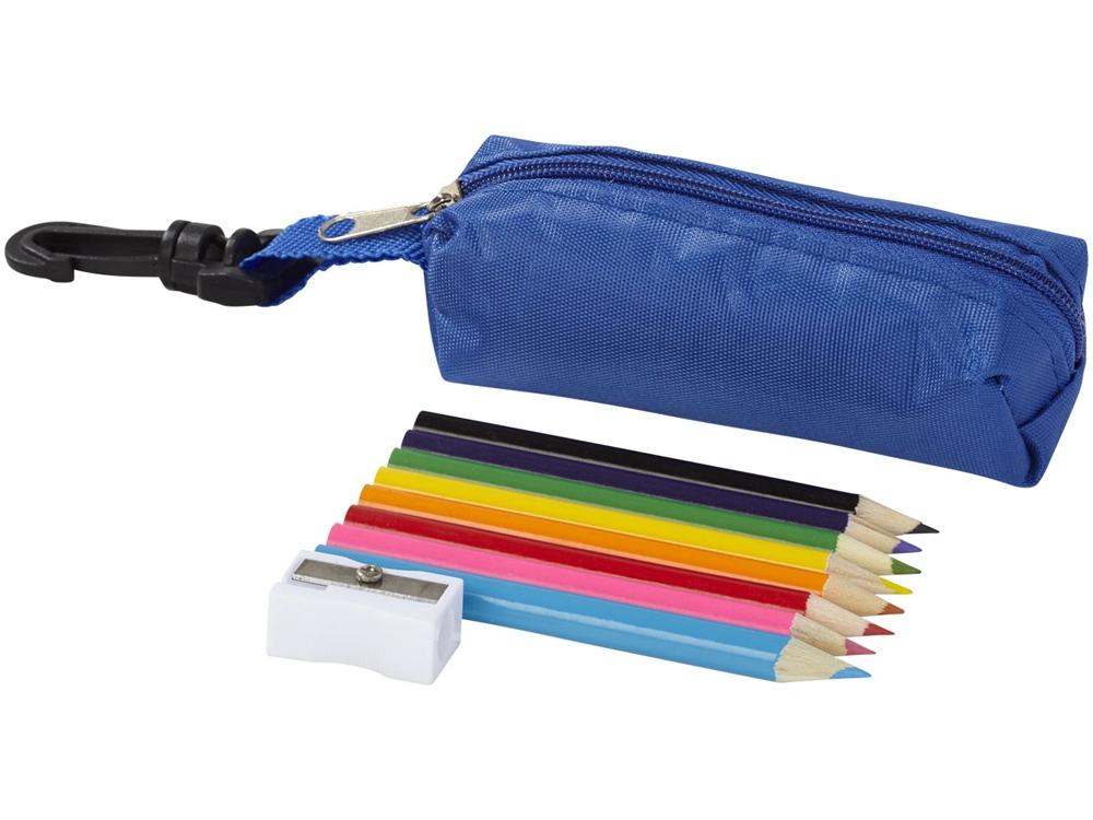 Набор карандашей 8 единиц, синий