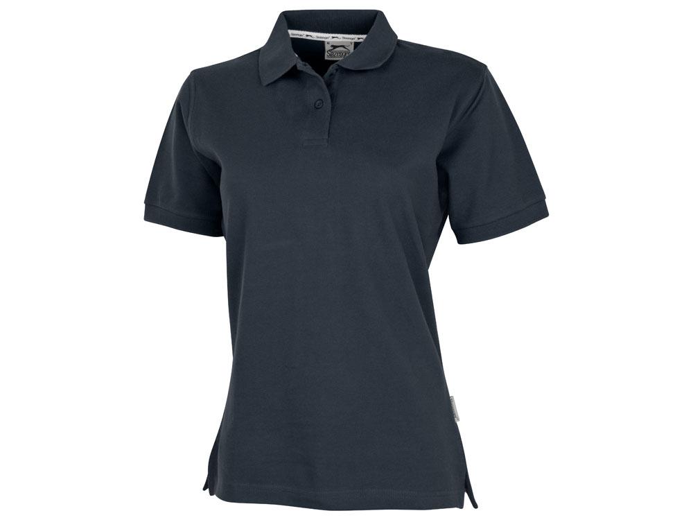 Рубашка поло Forehand женская, темно-синий