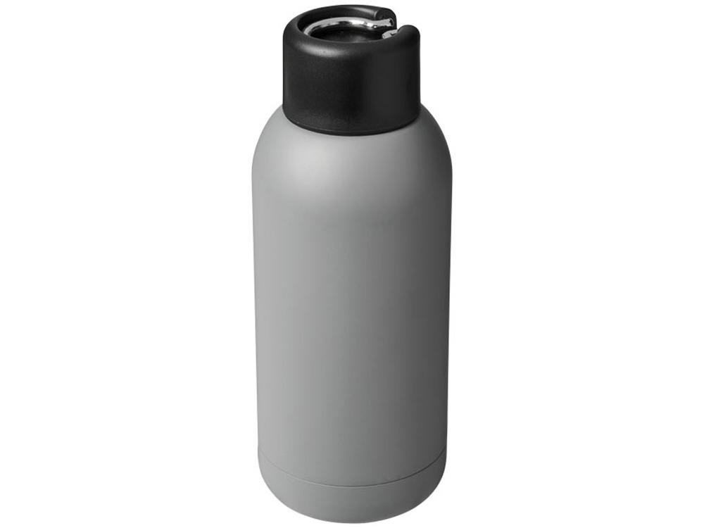 Спортивная бутылка с вакуумной изоляцией Brea объемом 375мл, серый