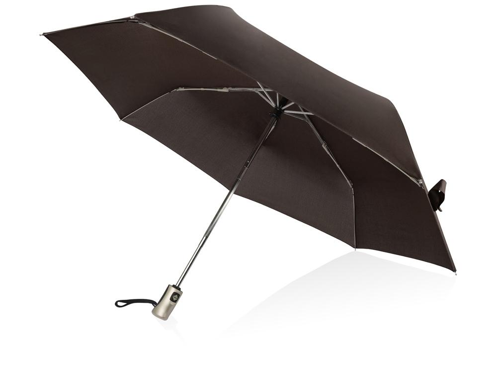 Зонт складной Оупен. Voyager, коричневый