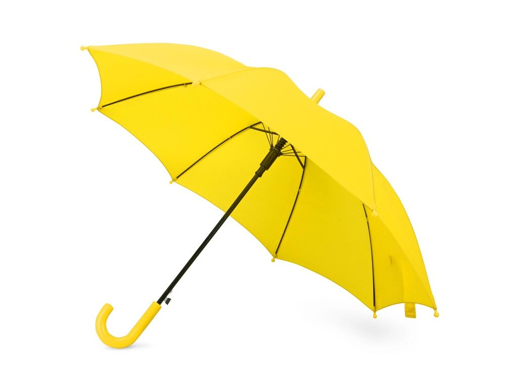 Зонт-трость Edison, полуавтомат, детский, желтый