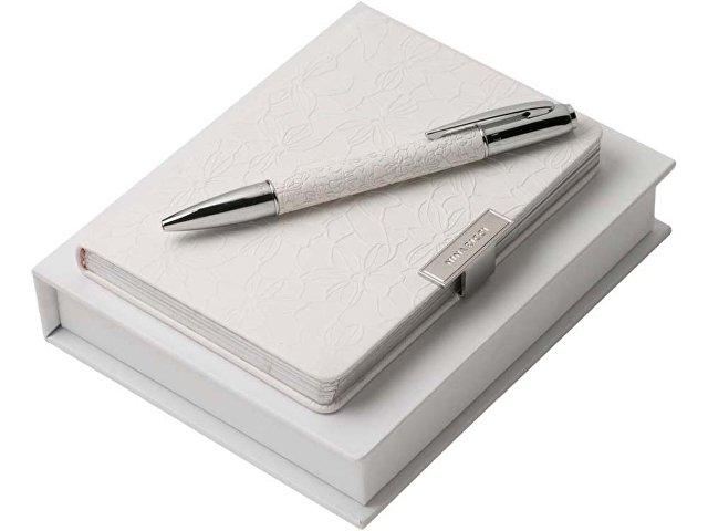 Подарочный набор Michelle: дизайнерский блокнот А6, шариковая ручка (арт. 60402)