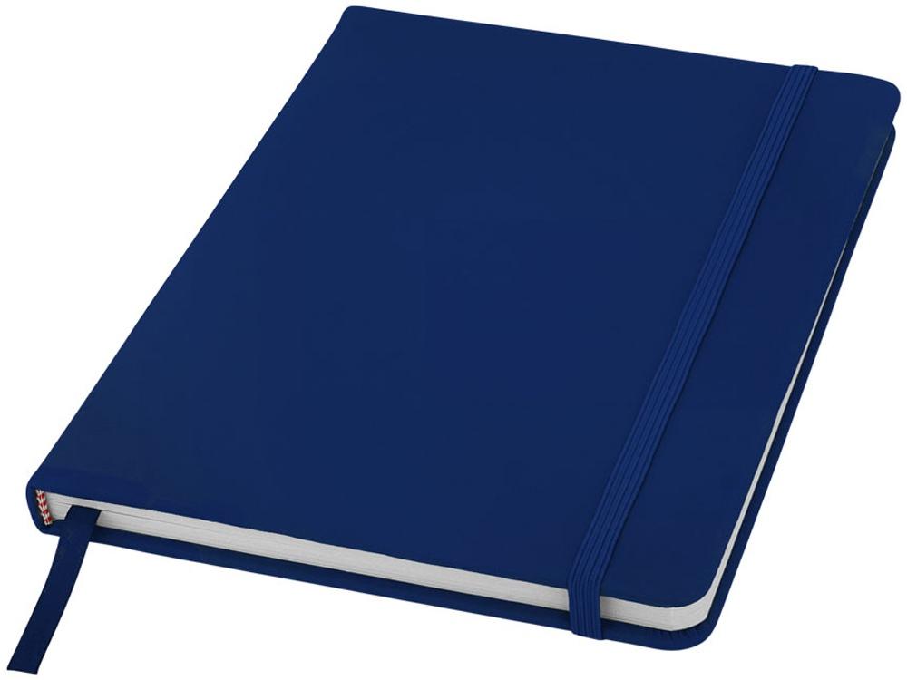 Блокнот Spectrum A5 с белыми страницами, темно-синий