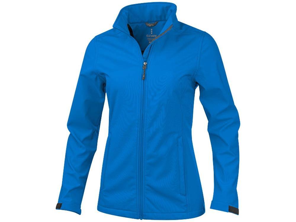 Куртка софтшел Maxson женская, синий