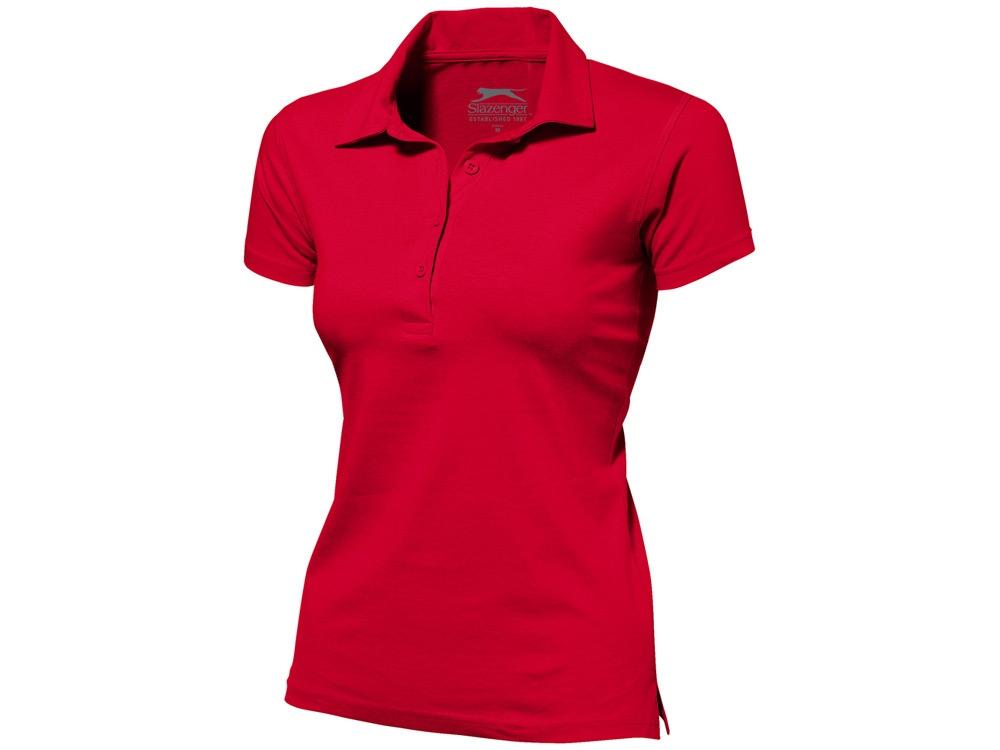 Рубашка поло Let женская, красный