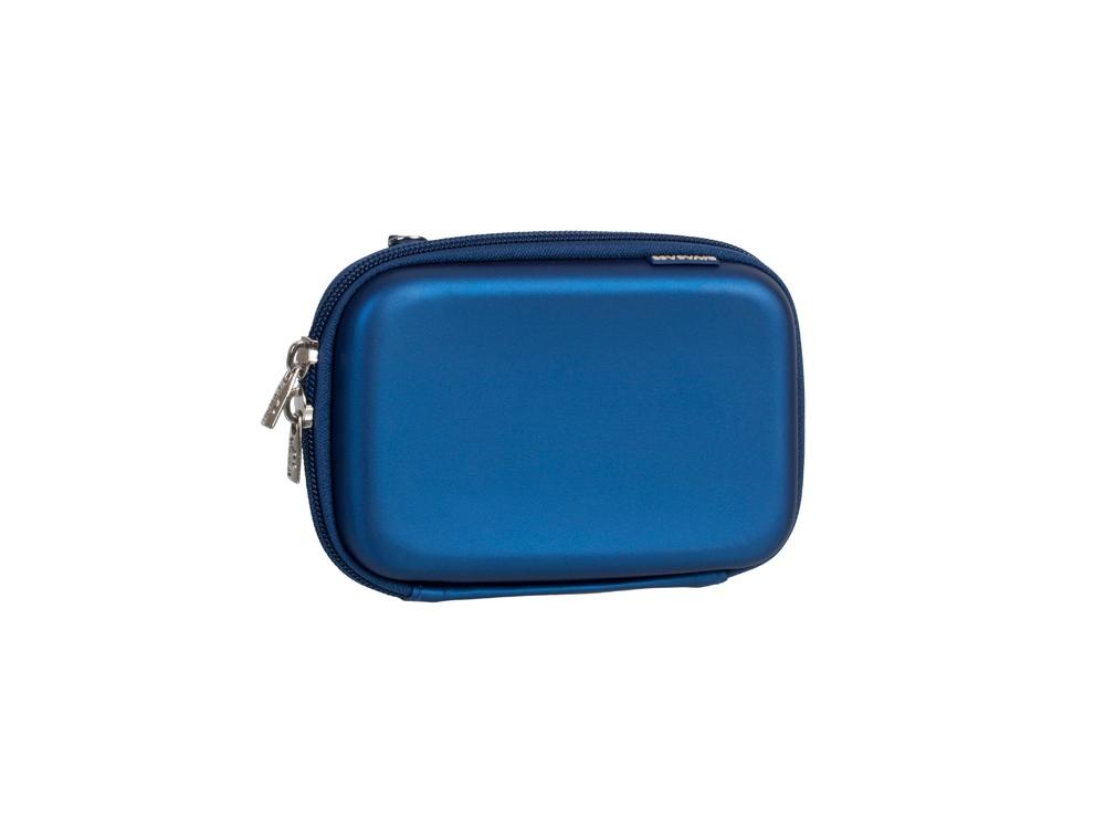 Чехол для жесткого диска из кожзама 9101, светло-синий
