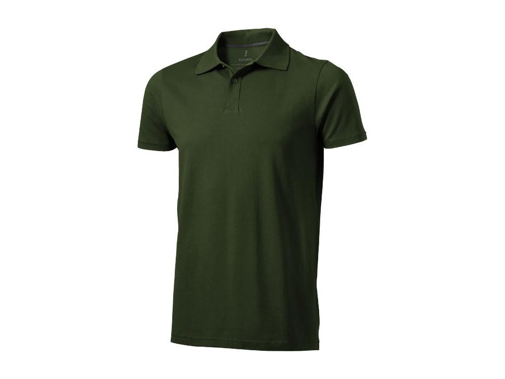 Рубашка поло Seller мужская, армейский зеленый
