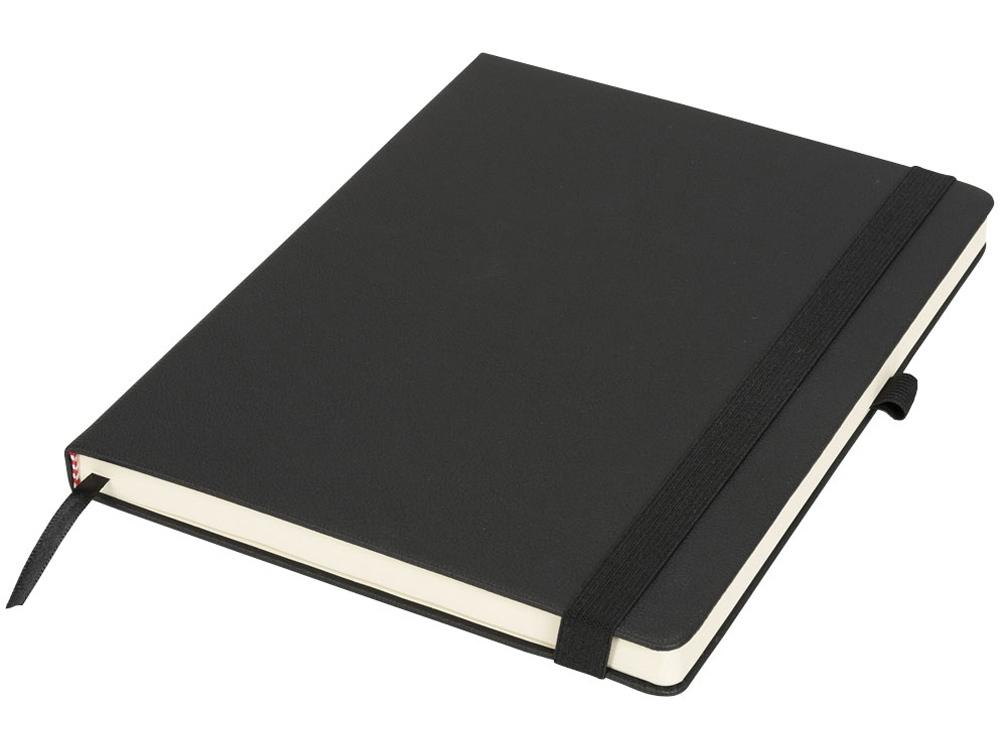 Блокнот Rivista большого размера, черный