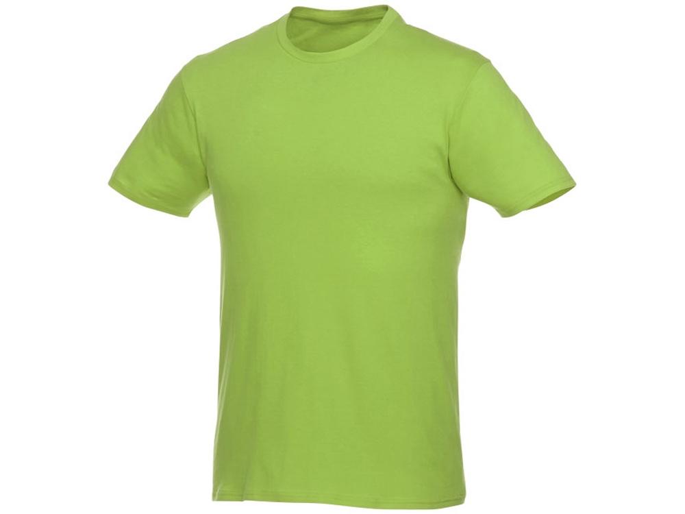 Футболка-унисекс Heros с коротким рукавом, зеленое яблоко