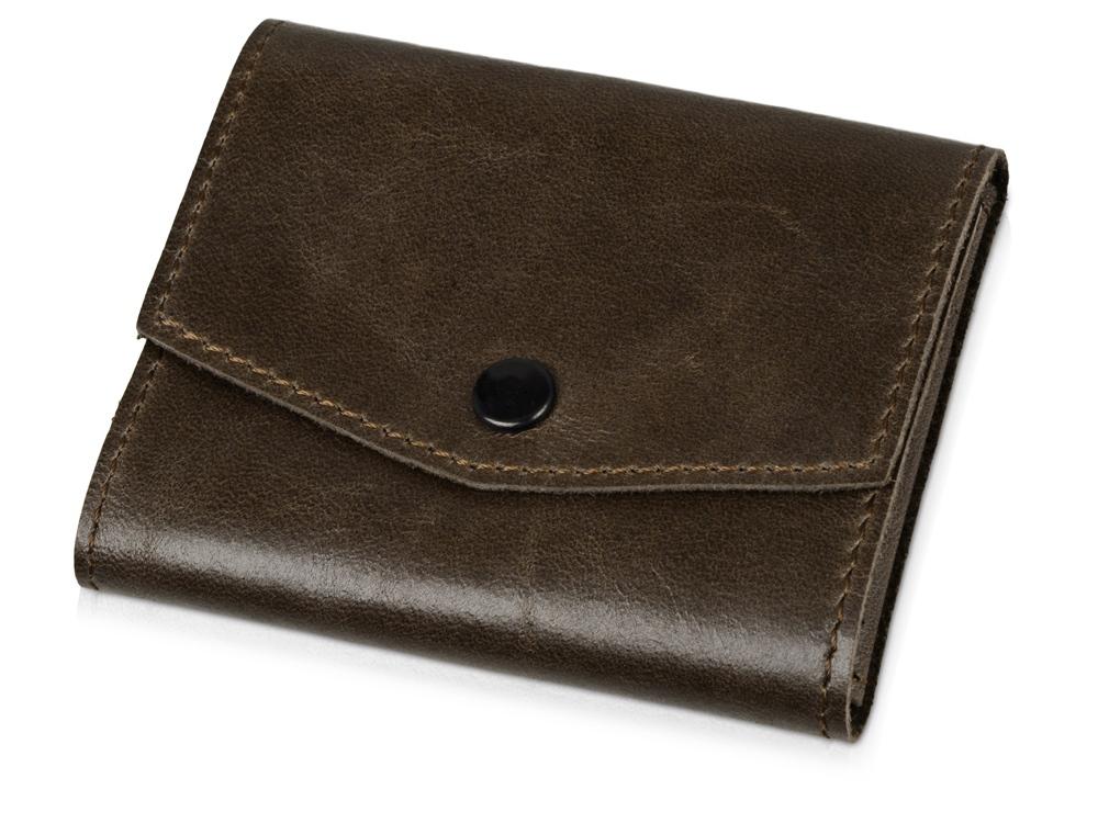 Чехол для кредитных карт и банкнот Druid, коричневый