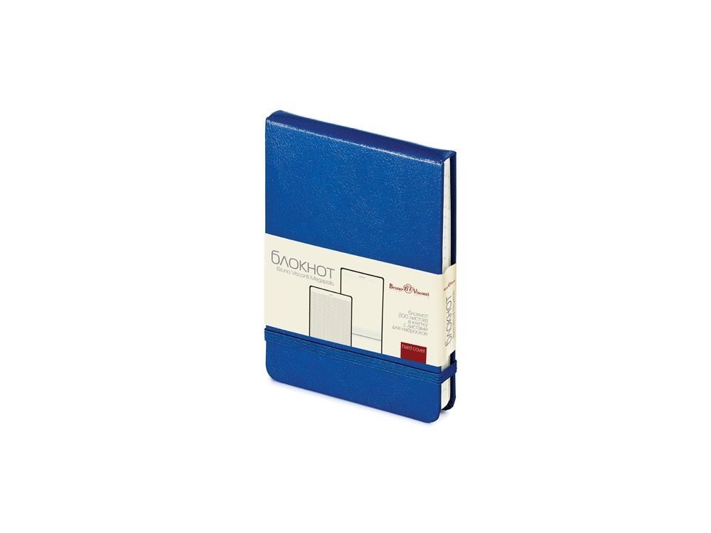 Блокнот А6 Megapolis Reporter, синий