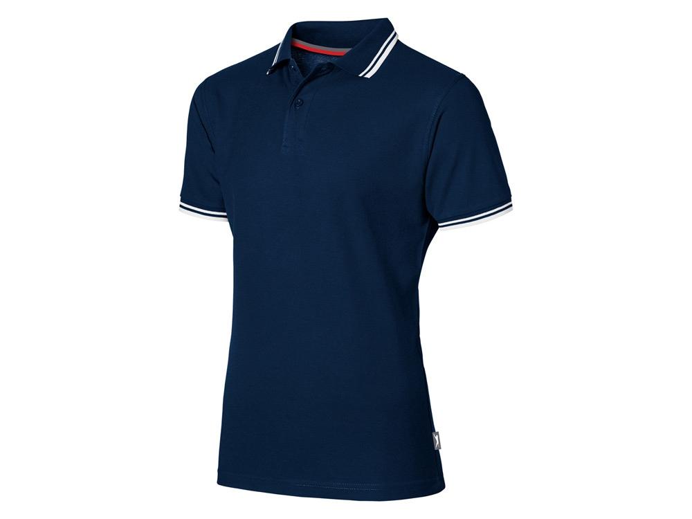 Рубашка поло Deuce мужская, темно-синий