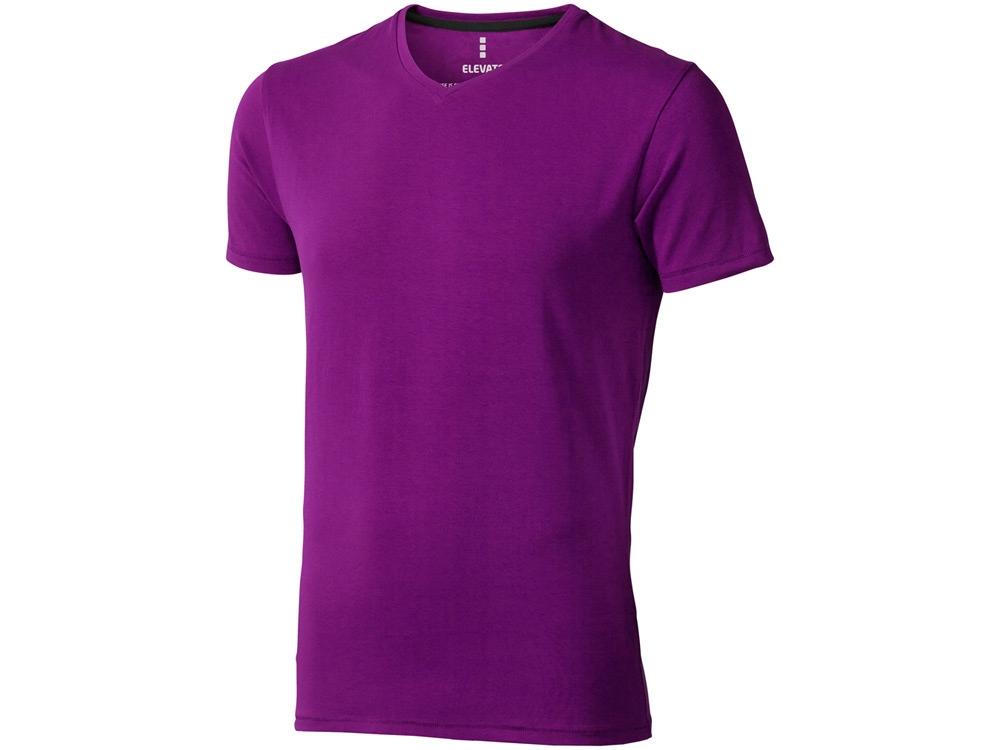 Футболка Kawartha мужская с V-образным вырезом, темно-фиолетовый